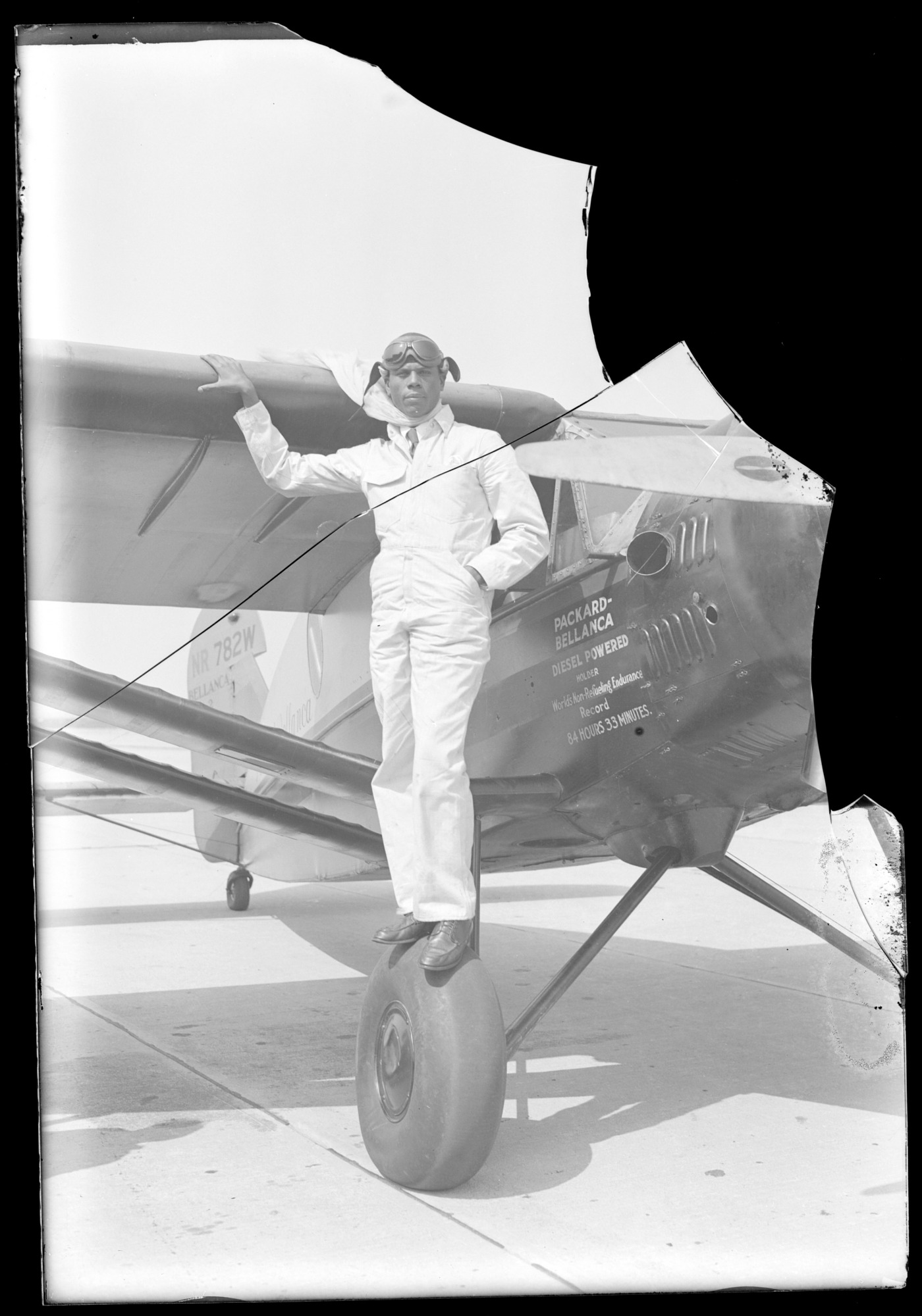 "Bellanca J-2 ""Abyssinia""; Julian, Hubert Fauntleroy"