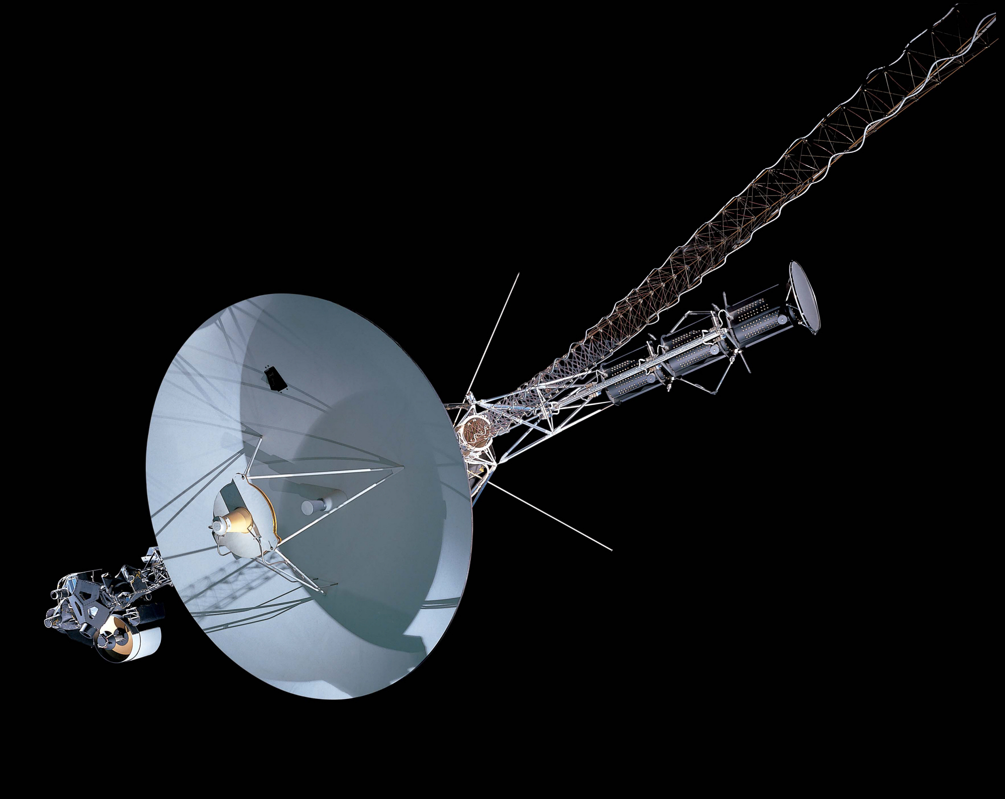 Voyager Spacecraft, Courtesy National Air and Space Museum