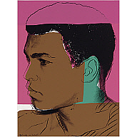 Muhammad Ali - Left Profile