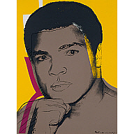 Muhammad Ali - Hand on Chin