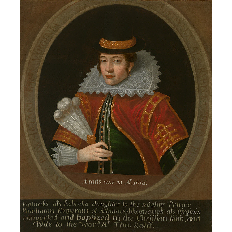 Pocahontas Portrait