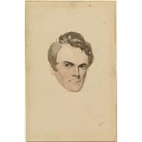 David Claypoole Johnston Self-Portrait