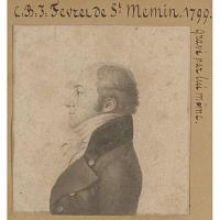 Charles de Saint-Mémin Self-Portrait