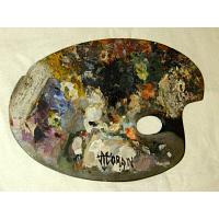 Thomas Moran's palette