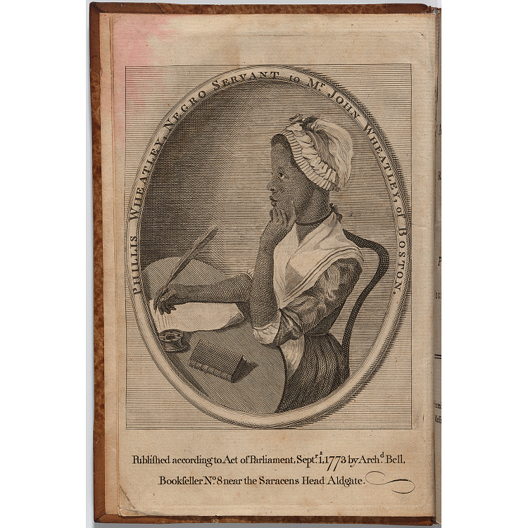 images for Phillis Wheatley