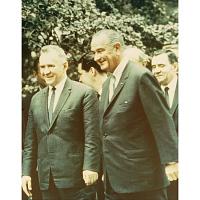 Johnson and Kosygin at Glassboro
