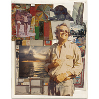 Robert Rauschenberg Self-Portrait