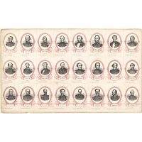 Confederate Political Leaders and Generals