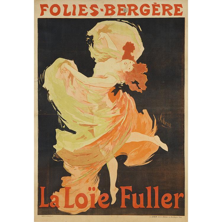Loie Fuller Portrait