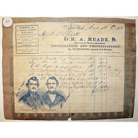Meade Brothers invoice