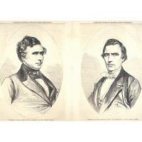 Franklin Pierce and William Rufus Devane King