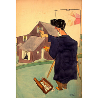 William Auerbach-Levy Self-Portrait