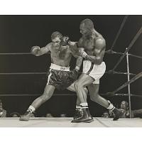 Rocky Marciano (with Jersey Joe Walcott)