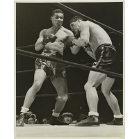 Joe Louis and Arturo Godoy