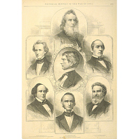 Members of President Lincoln's Cabinet