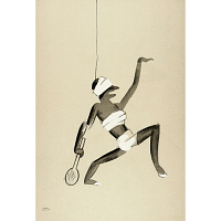 Le Tumulte Noir/Tennis Player