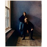 Susan Faludi and Gloria Steinem