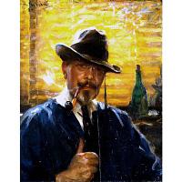 Arvid Frederick Nyholm Self-Portrait