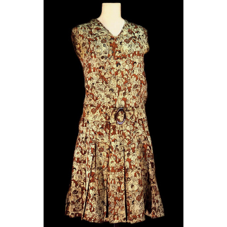 images for Cocoanut Grove Caricature Dress