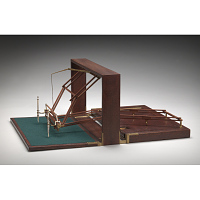 Replica of the Hawkins-Peale polygraph sent to Thomas Jefferson by Charles Willson Peale