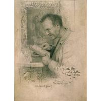 Timothy Cole Self-Portrait