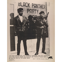 Huey Percy Newton and Bobby Seale