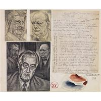 Franklin D. Roosevelt, Winston Churchill and Joseph Stalin