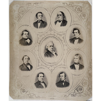 President James Buchanan and his cabinet