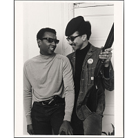 Stokely Carmichael and H. Rap Brown