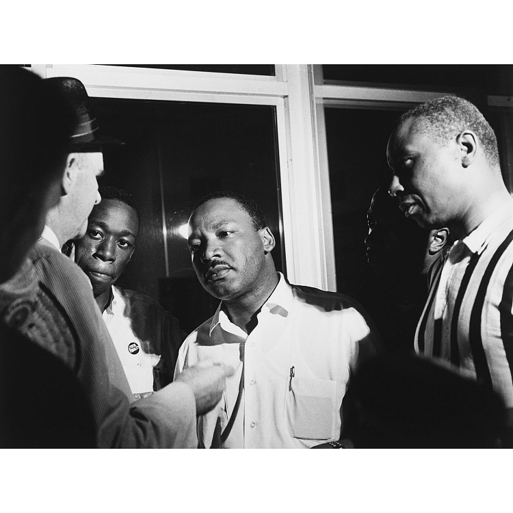 images for Martin Luther King, Jr. (with Floyd McKissick)