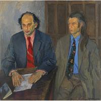Allen Ginsberg (with Peter Orlovsky)
