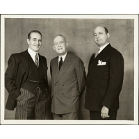 George M. Cohan (with Taylor Holmes and Paul Parks)