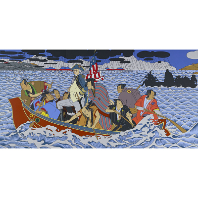 Shimomura Crossing the Delaware Portrait