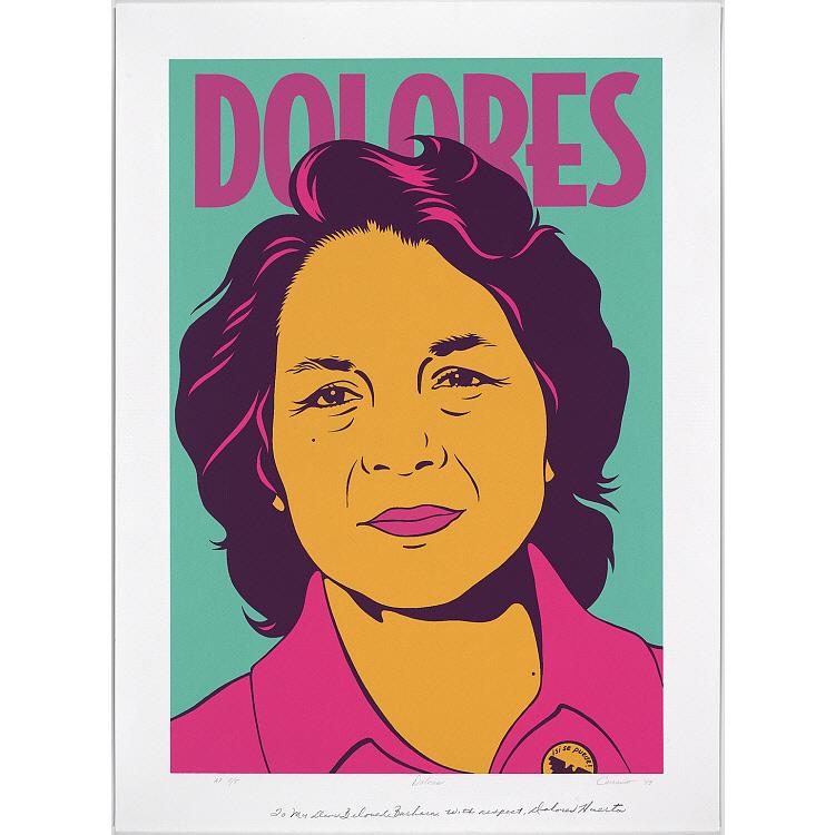 Dolores Huerta Portrait