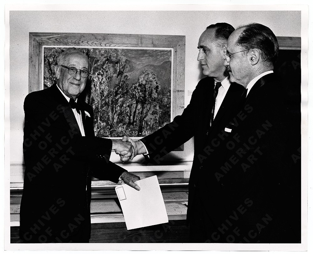 James N. Rosenberg, Irwin Shaw and E.P. Richardson