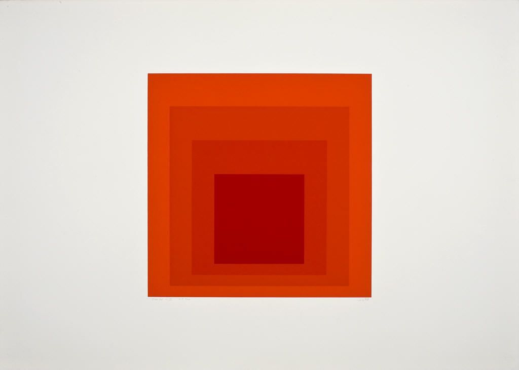 Josef Albers Honors the Hirshhorn Museum and Sculpture Garden (I)