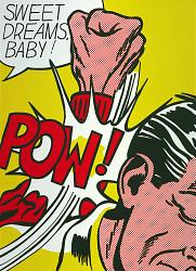 Sweet Dreams, Baby!, from the portfolio, 11 Pop Artists, Volume III