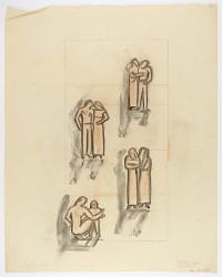 (Untitled--Studies for Figure Groups)