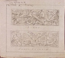 (Designs for Tapestry--Birds and Small Animals)