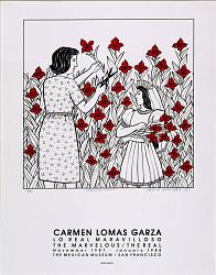 Ofreciendo flores