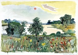 (Landscape with Animated Foreground)