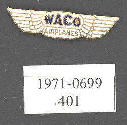 Pin, Lapel, Waco Airplanes