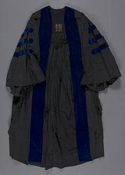 Academic Regalia, Doctoral Gown, Robert H. Goddard