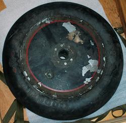 "Wheel, Lockheed Sirius ""Tingmissartoq"", C.A. Lindbergh"