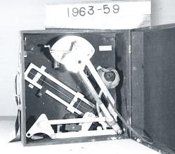 Case, Drift Angle Meter, Navy, Pioneer (later model?)