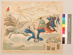 The Fall of Phaeton. Blow up of the Whig club or the Majesty of the People