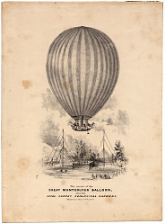 The Ascent of the Great Montgolfier Balloon