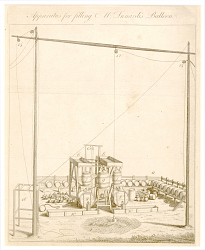 Apparatus for Filling M. Lunardi's balloon