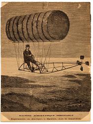 Machine Aerostatique Dirigeable