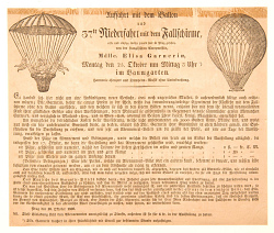 Auffahrt Mit Dem Ballon und 37th Nieder